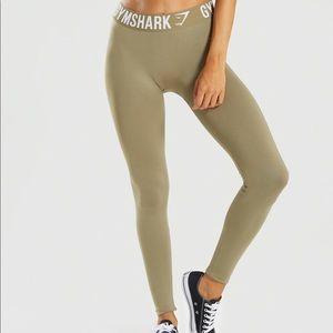 Gymshark Fit khaki Leggings